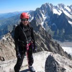 Aiguille du Plan summit
