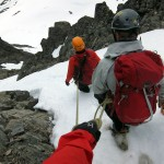 Bispen - down the south couloir