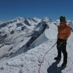 Breithorn - Stle on the summit