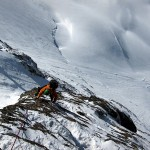 Breithorn Traverse - climbing