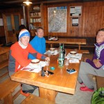 Dinner time at Couvercle Hut