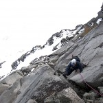 Fun climbing on Styggedalstind