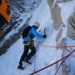 Good conditions on Chere couloir