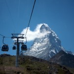 Matterhorn seen from the Schwartsee lift