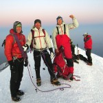 Erik, Richart and me on summit of Mt. Blanc