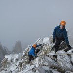 Ida and Hans on Aiguille du Tour