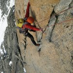 Nils on Grand Capucin Photo:Per Magne