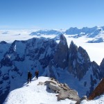 Fitz Roy - close to summit