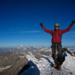 Petter happy on the summit of Matterhorn
