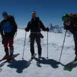Summit of Alphubel 4206m