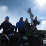 Summit of Stralhorn 4190m