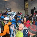 You never hear about it, but on powder days its a LOT of waiting in lift queues. At least it's social...