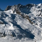Breithorn and the Swartztor gletscher