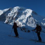 Starting from Monte Rosa Hut