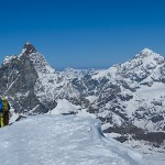 Summit of Breithorn
