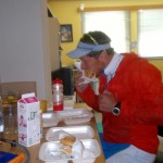 A quick stop to eat a Statoil-burger