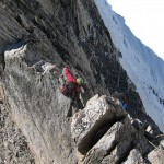Exposed on the Entreves traverse