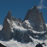Fitz Roy with Poincenot down left