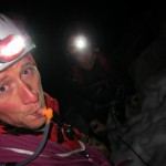 Frendo Spur - at the base of the climb in the dark