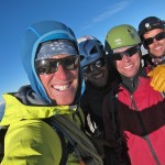 Happy clients and guides on Matterhorn