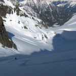 Good snow in Val d' Arpette