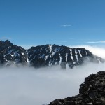 Romsdalshorn - on the summit with Vengetind