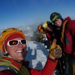 SUMMIT - from right Rok, Knut, Tone, and Nils