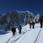 Guiding Vallee Blanche