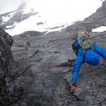 Vengetind Drømmediederet - Gorm finishing pitch 4 in rain